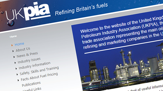 Sitefinity Website Upgrade for UKPIA
